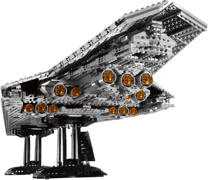 star wars super star destroyer lego 10221 jeu de construction lego lego10221 figurine. Black Bedroom Furniture Sets. Home Design Ideas