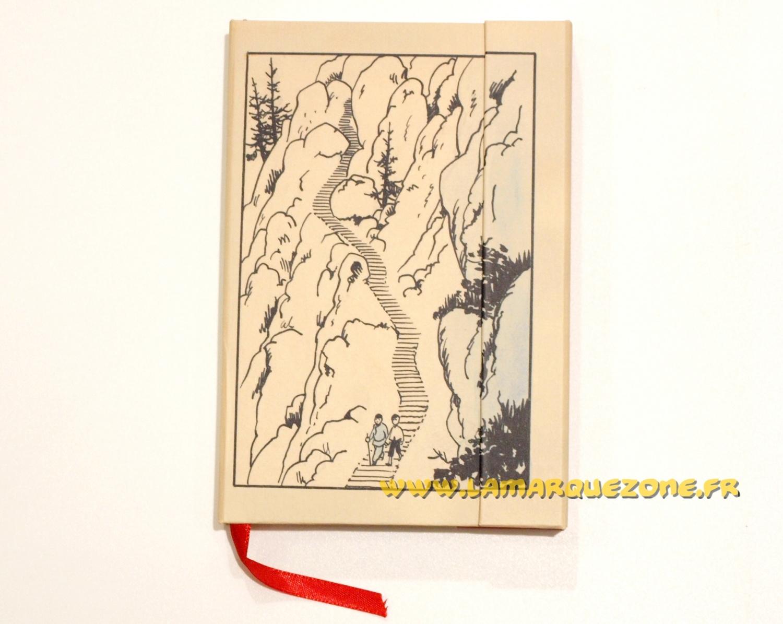 tintin carnet de notes a6 montagne moulinsart tintin moul54629. Black Bedroom Furniture Sets. Home Design Ideas