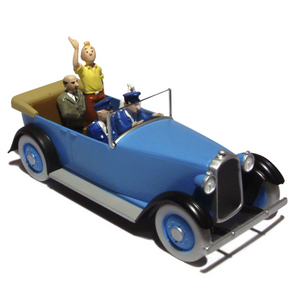 en voiture tintin n 39 voiture d 39 apparat tintin en amerique moulinsart tintin moul29039. Black Bedroom Furniture Sets. Home Design Ideas