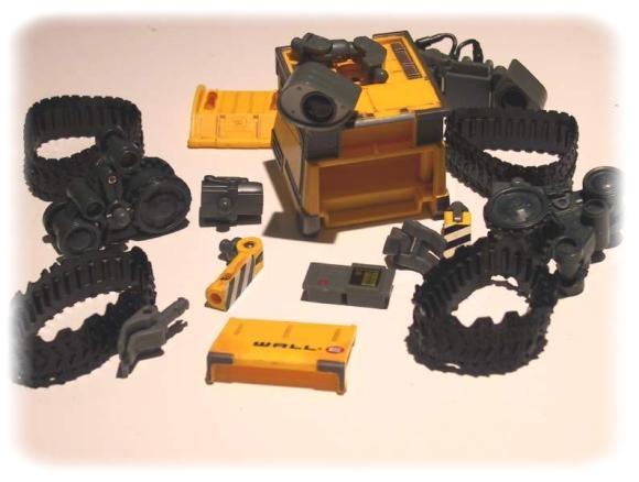 thinkway toys wall e manual
