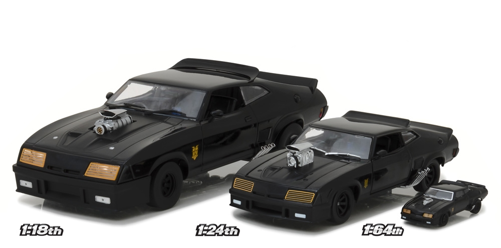 mad max interceptor 1973 ford falcon xb 1 18 greenlight collectibles. Black Bedroom Furniture Sets. Home Design Ideas