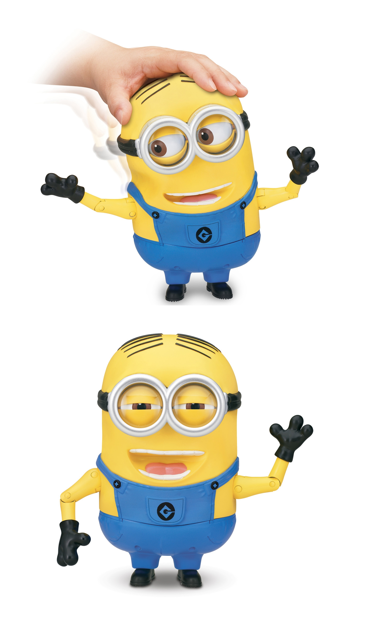 Moi moche mechant 2 dave minion figurine lectronique articul e 20 cm thinkway toys - Mechant minion ...