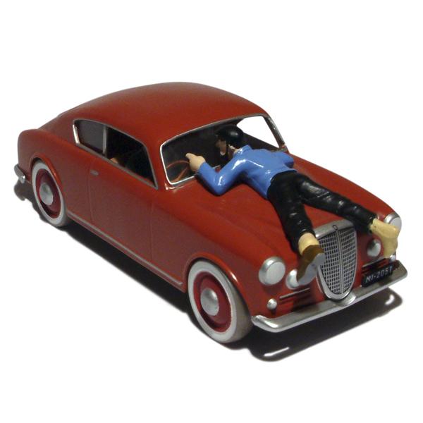 tintin en voiture tintin n 26 v hicule miniature 1 43 occasion. Black Bedroom Furniture Sets. Home Design Ideas
