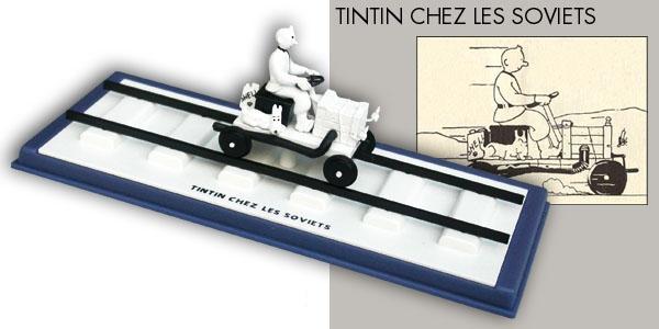 tintin en voiture tintin n 64 v hicule miniature 1 43 occasion moulinsart tintin. Black Bedroom Furniture Sets. Home Design Ideas