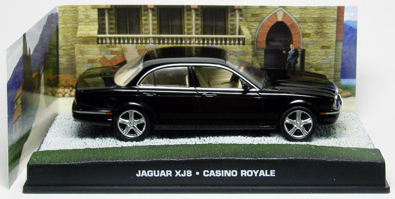 Jaguar xj8 casino royale 2006 black red flush casino bonus code