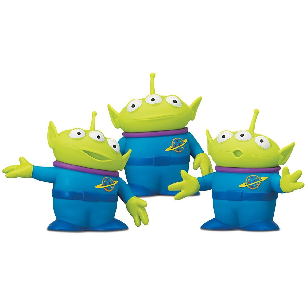 New day. Toy story aliens