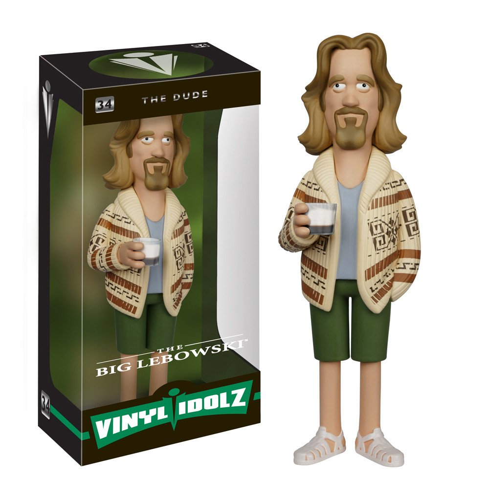 The Big Lebowski The Dude Quot Vinyl Idolz Quot Figurine Vinyl