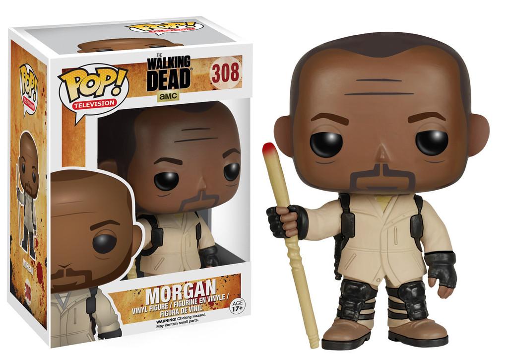 The Walking Dead Morgan Pop Figurine Vinyl 10 Cm