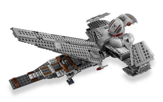 Star wars darth maul 39 s sith infiltrator lego 7961 jeu - Vaisseau dark maul ...