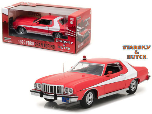 ford gran torino starsky hutch 1 24 greenlight collectibles. Black Bedroom Furniture Sets. Home Design Ideas