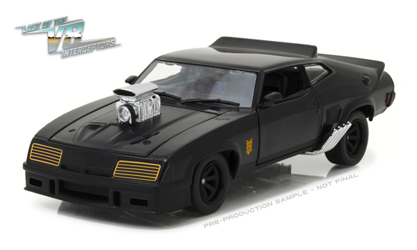 mad max interceptor 1973 ford falcon xb 1 24 greenlight collectibles. Black Bedroom Furniture Sets. Home Design Ideas