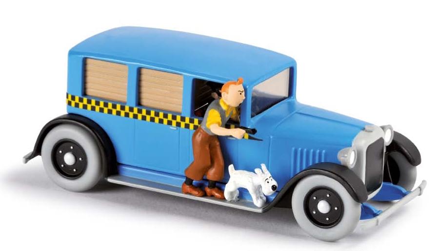 en voiture tintin seconde edition 3 le taxi de tintin en amerique moulinsart tintin. Black Bedroom Furniture Sets. Home Design Ideas