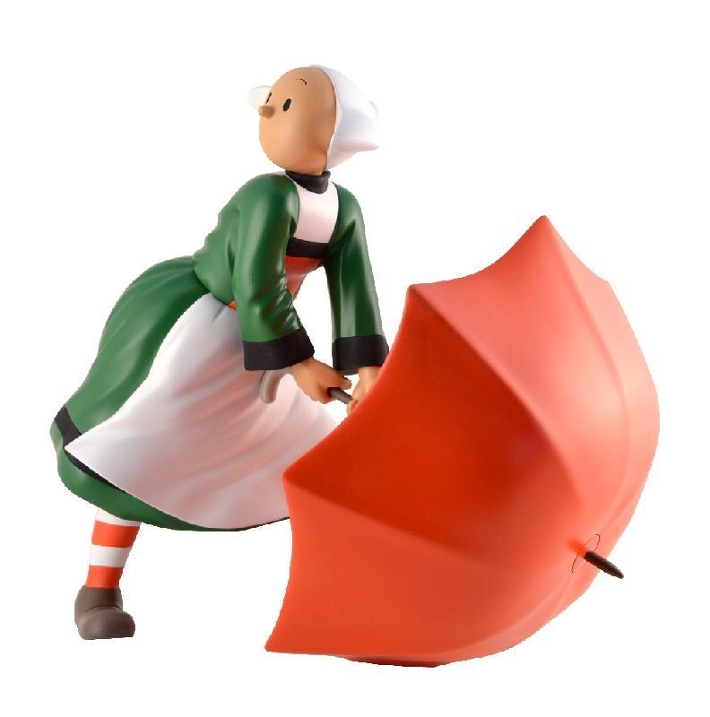 Becassine becassine dans le vent statuette r 233 sine 32 cm leblon