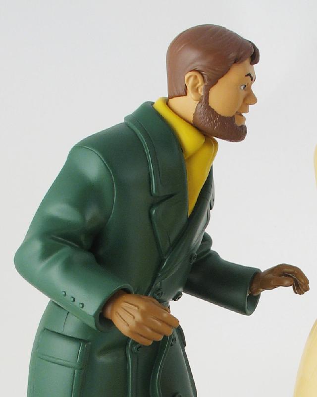 Blake mortimer la marque jaune statuette r sine 42 - Blake et mortimer la porte du druide ...