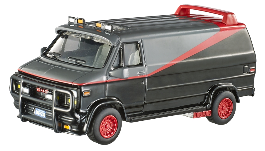 l 39 agence tous risques gmc van hot wheels elite one. Black Bedroom Furniture Sets. Home Design Ideas