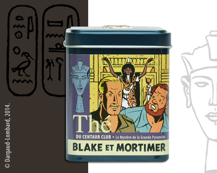 Blake et mortimer le mystere de la grande pyramide bo te - Blake et mortimer la porte du druide ...