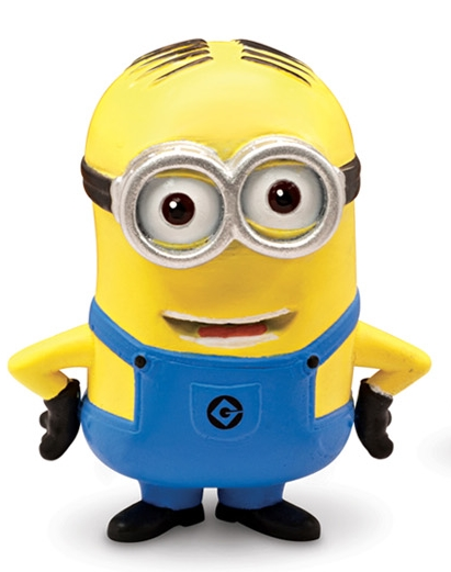 Moi moche mechant 2 minion dave mini figurine 5 cm thinkway toys tht25078g - Mechant minion ...