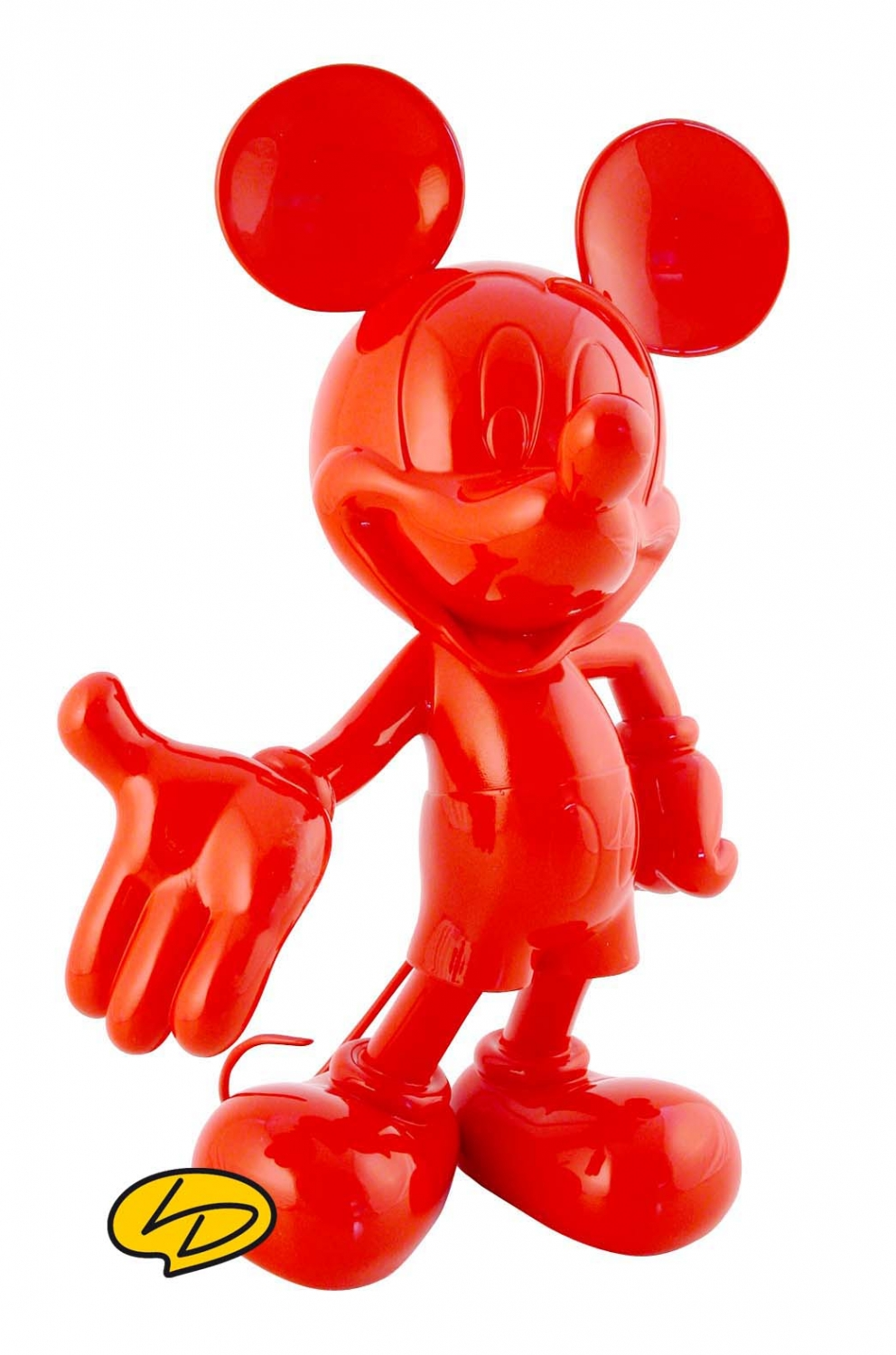 Figurine pop Mickey Mouse bleu et rouge (Mickey Mouse)  Mickey Mouse  Funko
