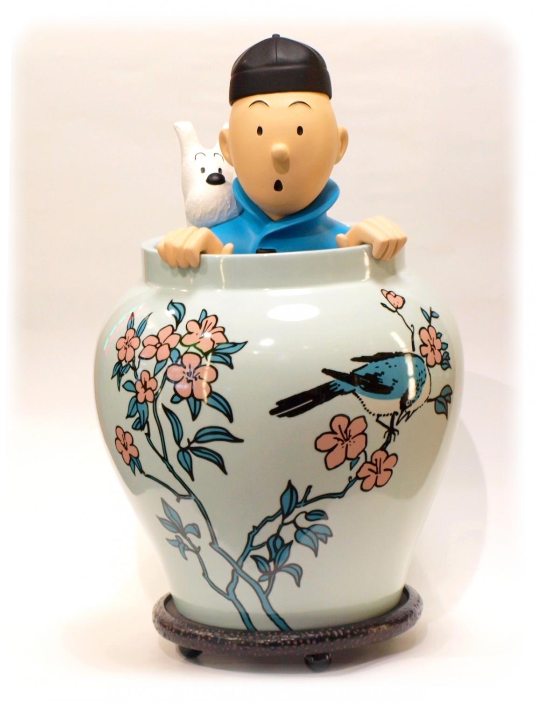Le lotus bleu tintin résumé