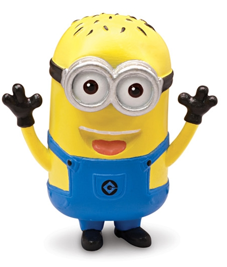 Moi moche mechant 2 minion phil mini figurine 5 cm thinkway toys tht25078e - Mechant minion ...