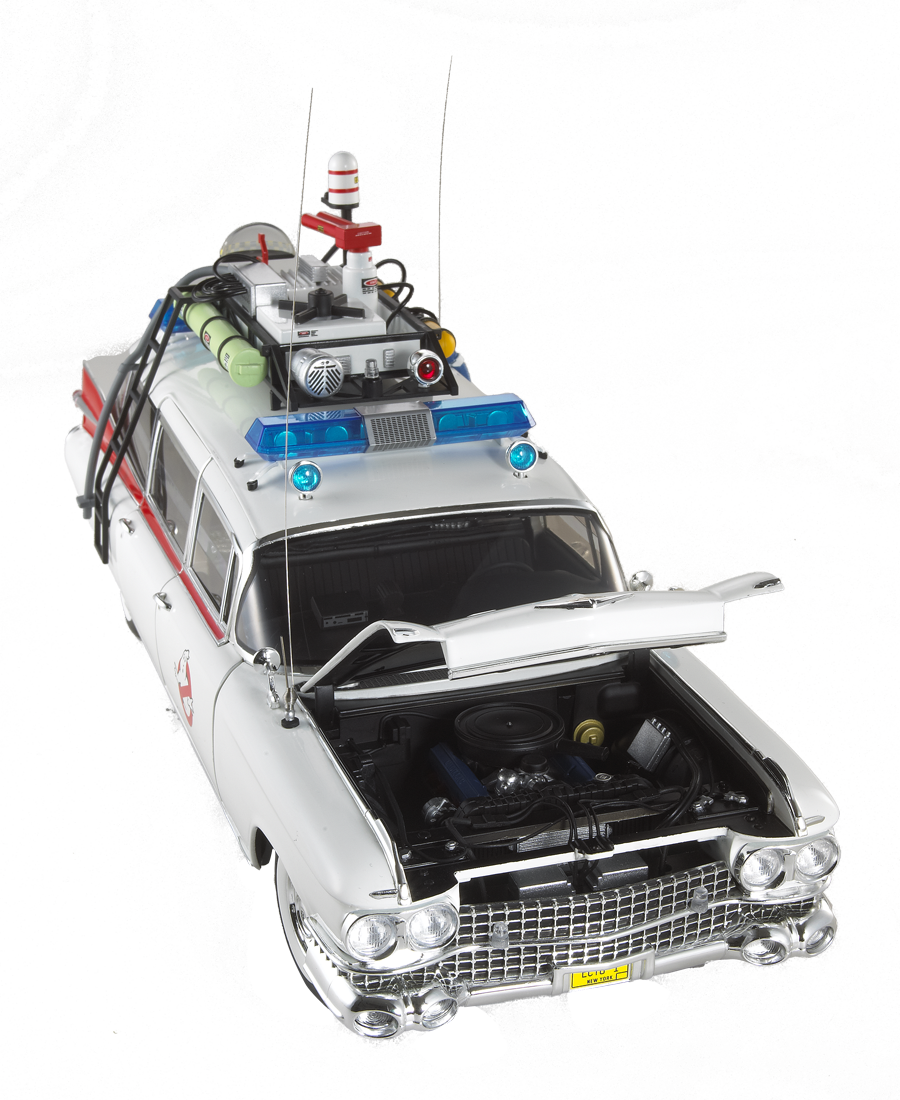 Ghostbusters cadillac ecto 1 cult classics collection die cast vehicle 1