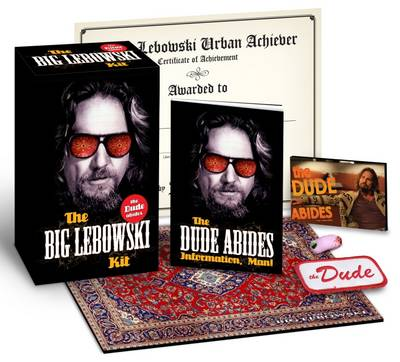 the big lebowski the dude kit coffret collector bleb001. Black Bedroom Furniture Sets. Home Design Ideas