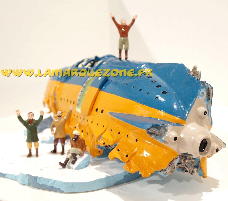 Blake mortimer le naufrage du subglacior diorama - Blake et mortimer la porte du druide ...