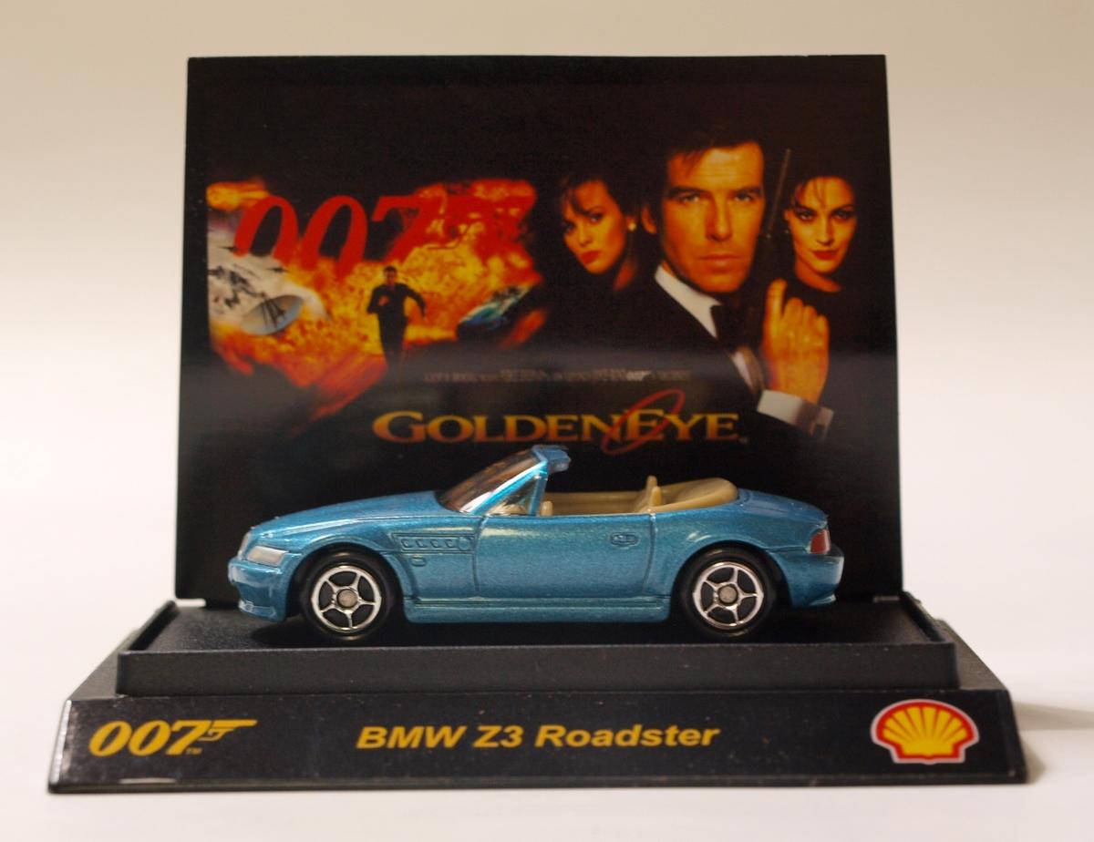 james bond goldeneye bmw z3 roadster v hicule miniature shjb04. Black Bedroom Furniture Sets. Home Design Ideas