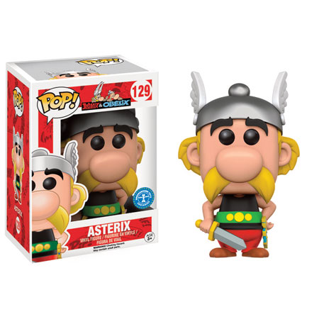 Funko Pop Asterix Figurine Vinyl 129