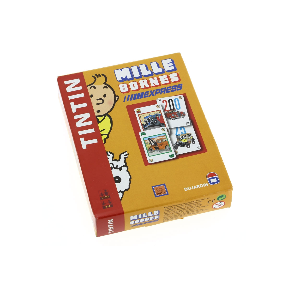 mille bornes tintin dition de voyage dujardin moulinsart. Black Bedroom Furniture Sets. Home Design Ideas