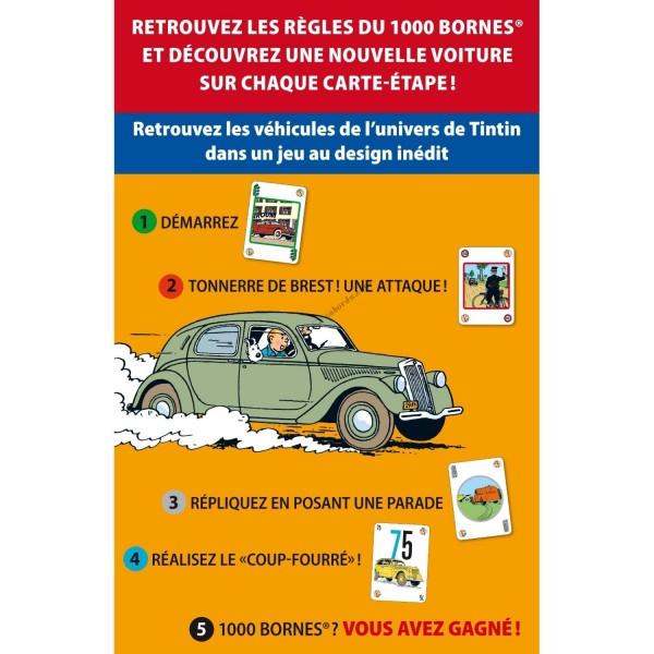 Tintin mille bornes board game dujardin moul59029 for Dujardin 1000 bornes