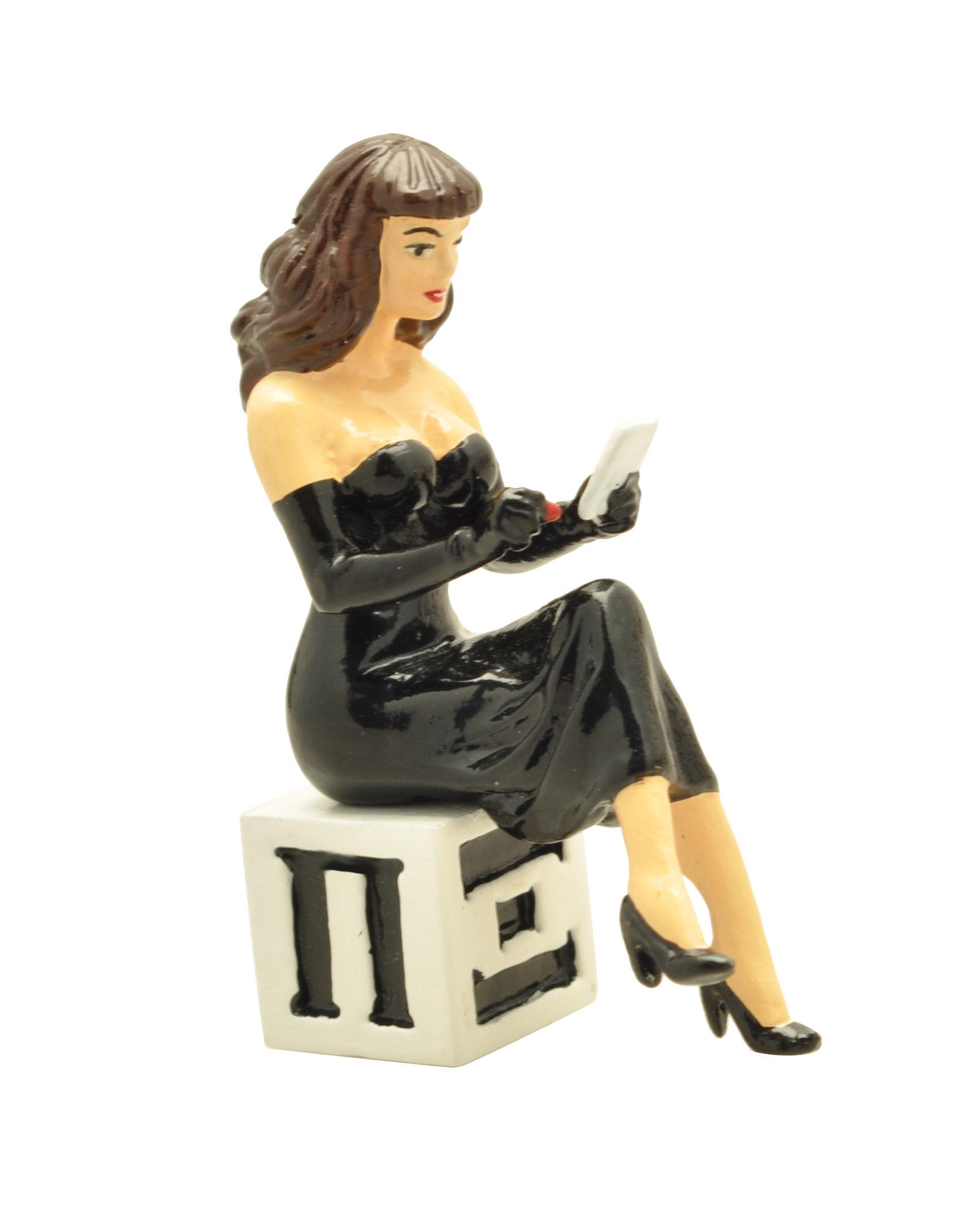 Figurine Pin-Up Berthet Cube Pixi la dédicace Pixi Origine 05327