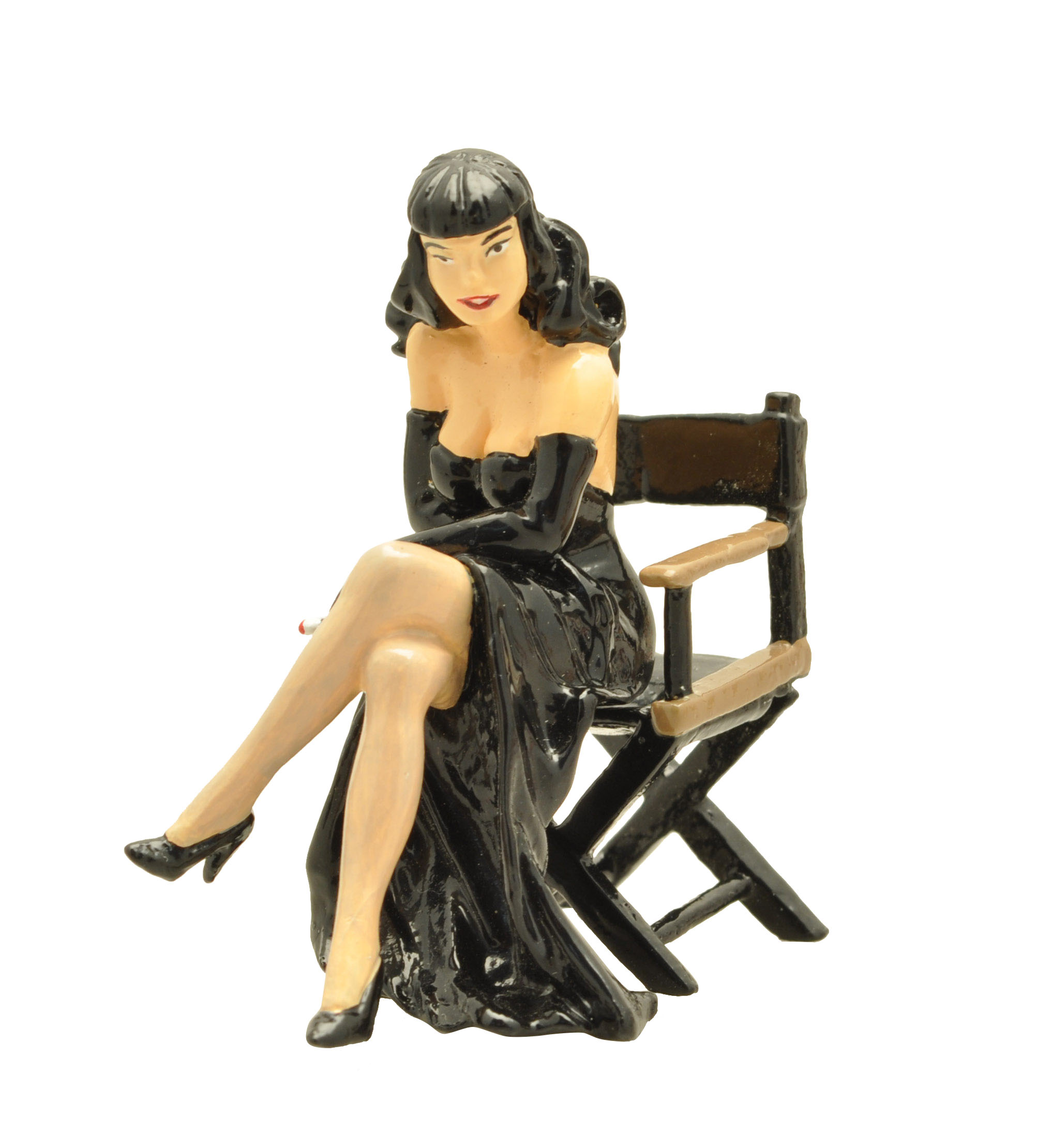 figurine pin up berthet fauteuil metteur en sc ne pixi origine 05332