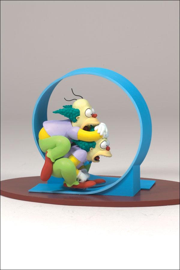 Les simpson clown homer homer krusty figurines 12 cm - Clown simpson ...