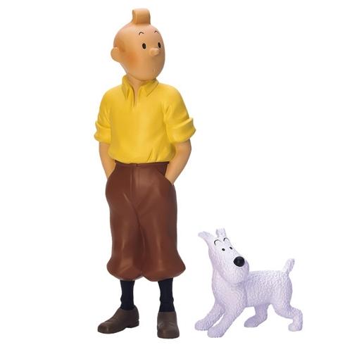 Tintin tintin milou debout statuette r sine 30 cm - Image de tintin et milou ...
