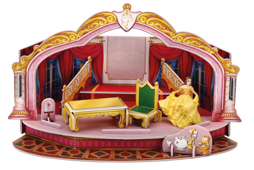 la belle et la bete belle magic moments d cor figurine plastique 4 cm bullyland bula11901. Black Bedroom Furniture Sets. Home Design Ideas