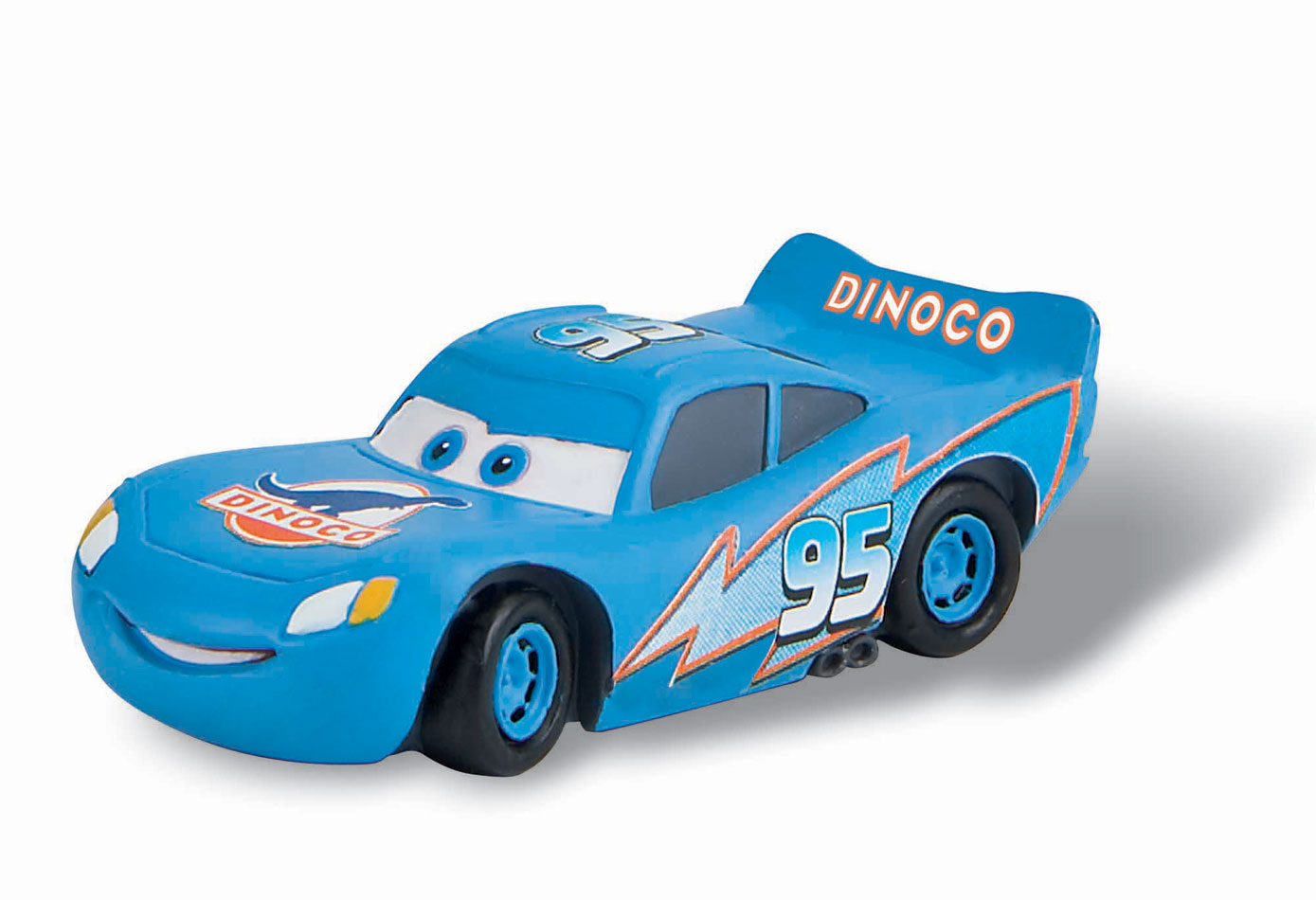 cars flash mcqueen 39 dinoco 39 figurine 7 cm bullyland bula12688. Black Bedroom Furniture Sets. Home Design Ideas