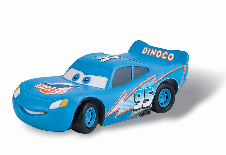 Cars flash mcqueen 39 dinoco 39 figurine 7 cm bullyland - Mcqueen flash mcqueen ...