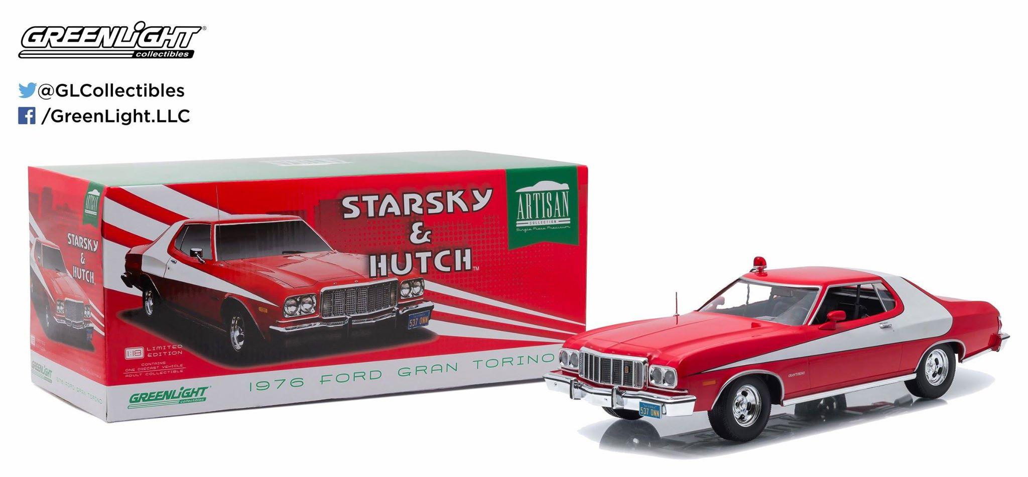 starsky hutch 1976 ford gran torino artisan collection. Black Bedroom Furniture Sets. Home Design Ideas