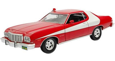 starsky hutch ford gran torino 1976 1 18 joy ride ertl3217825. Black Bedroom Furniture Sets. Home Design Ideas