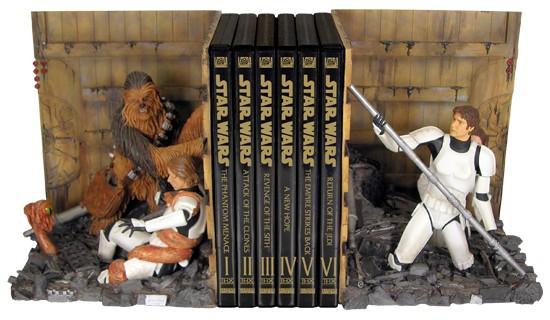 STAR WARS - TRASH COMPACTOR - serre-livres en résine 19 cm, gentle ...