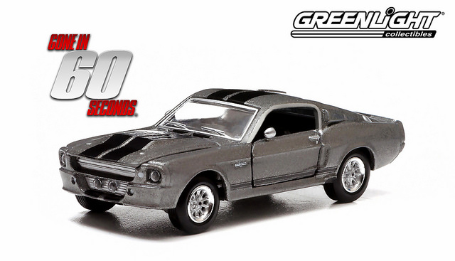 60 secondes chrono 1967 ford mustang eleanor v hicule miniature 1 64 greenlight collectibles. Black Bedroom Furniture Sets. Home Design Ideas