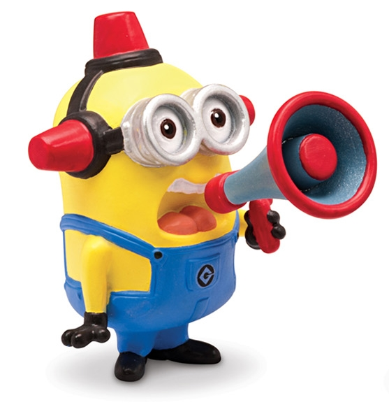 Moi moche mechant 2 minion fireman 2 mini figurine 5 cm thinkway toys tht25078j - Mechant minion ...