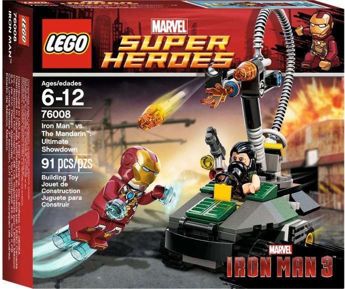 marvel super heroes iron man contre le mandarin lultime combat - Jeux D Iron Man
