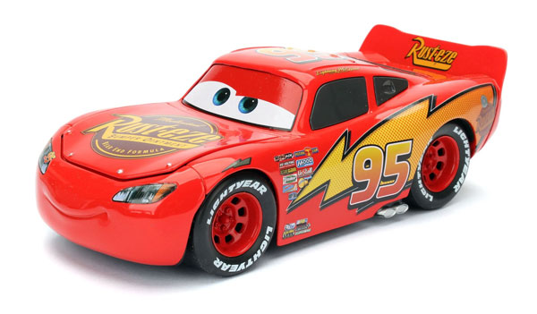 cars flash mcqueen lightning jada toys 98099. Black Bedroom Furniture Sets. Home Design Ideas
