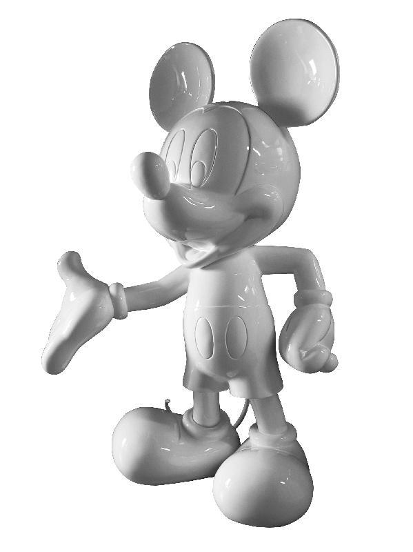 mickey  monochrome blanc
