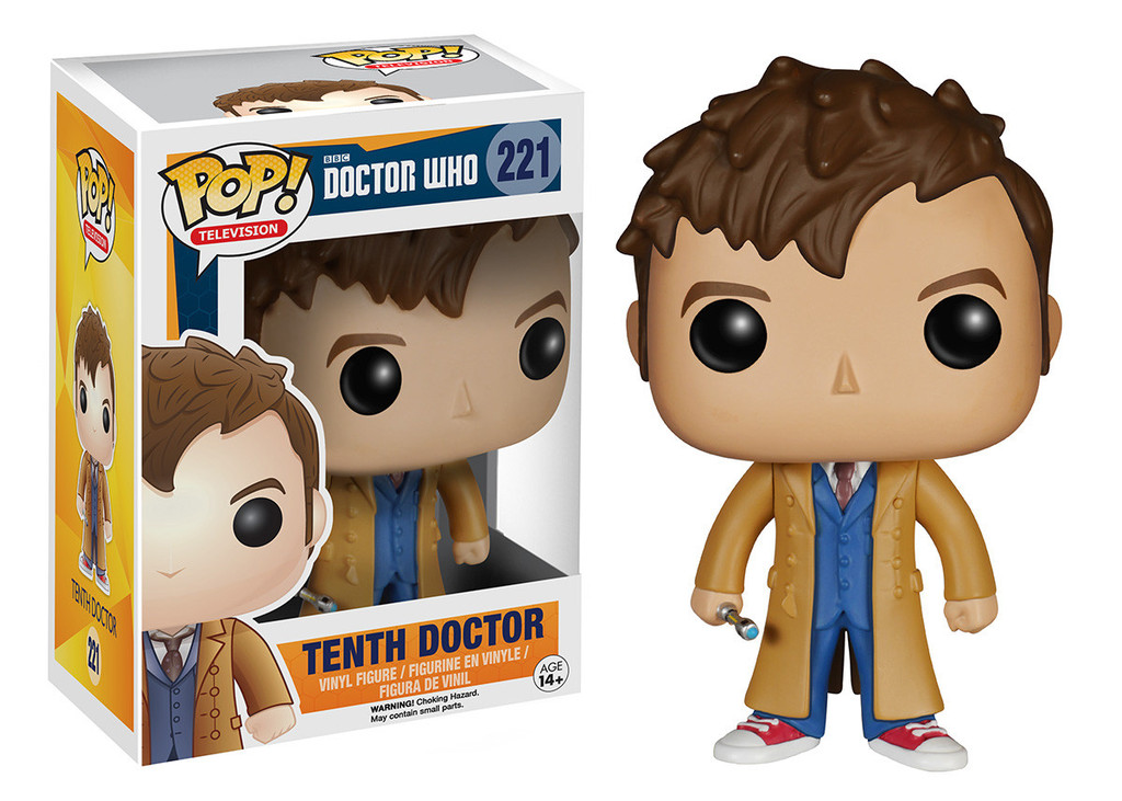 Doctor Who Tenth Doctor Funko Pop Television 221