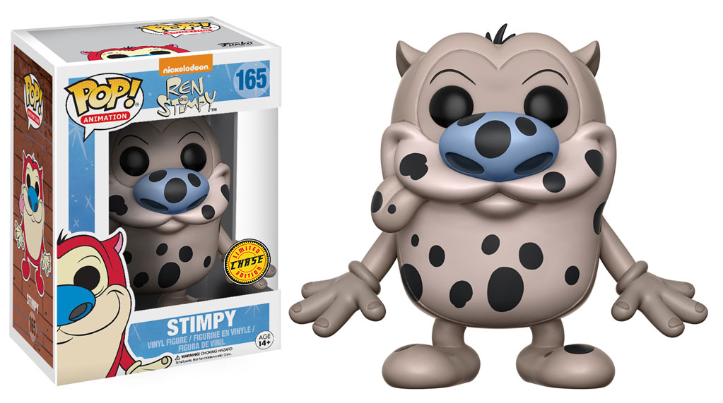 Funko Pop Ren And Stimpy Fire Dog Chase 165