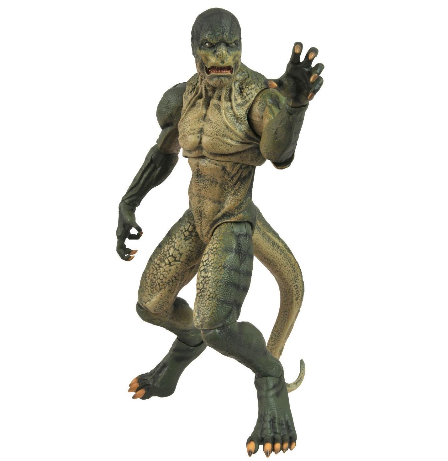 the amazing spider man lizard figurine articul e. Black Bedroom Furniture Sets. Home Design Ideas