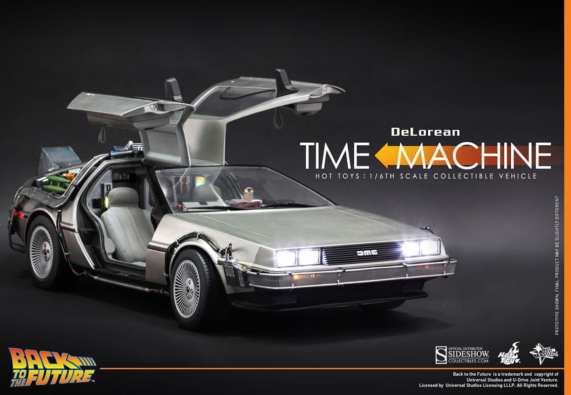 FuturDelorean MachineMovie Le Time Masterpiece Vers Retour q3AR4Lj5c